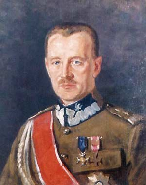 Painting of General Wladyslaw Sikorski.
