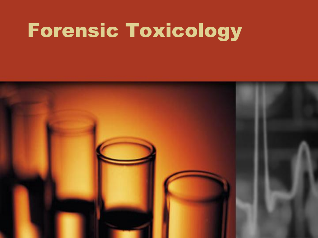 forensic toxicology According to the american-board of forensic-toxicology (abft), forensic toxicology encompasses the measurement of alcohol, drugs and other toxic substances in biological specimens and.