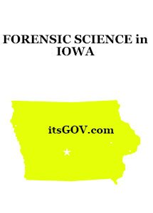 Forensic Degrees in Iowa