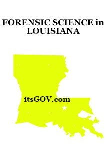 Forensic Science Degrees in Louisiana