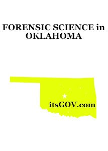 oklahoma forensic science degree